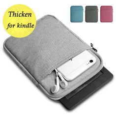 Shockproof Tablet Bag Sleeve Case for ALL new Kindle Paperwhite Case Voyage Pocketbook 622 623 e-reader Portable Cover Kindle Paperwhite Case, Kindle Case, E Reader, Zipper Bags, Zipper Pouch, Pouch Bag, Ipad Mini 2, Amazon Kindle, Portable