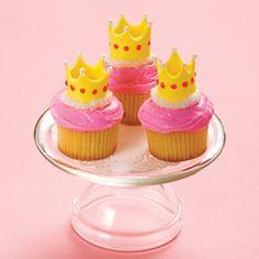 milleideeperunafesta: Principesse: cupcake con corona
