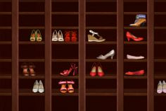 How to Organise Your Shoes. #Stylish365