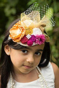 Couture Mini Top Hat Fascinator