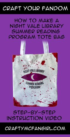 A Welcome to Night Vale DIY for those who Survived the Night Vale Library Summer Reading Program. Step-by-step instruction video from GeekyMcFangirl on YouTube and at CraftyMcFangirl.com http://craftymcfangirl.com/home/ http://craftymcfangirl.com/home/geekymcfangirl-on-youtube