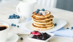 Protein-Quark-Pancakes ohne Whey