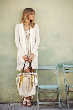 Tassels + Lace • Anthropologie #Anthrofave