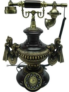 classic 1920s style phone. I had a collection of antique phones, so beautiful.