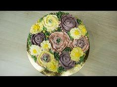 Торт с Шоколадными Цветами ( Торт «Колибри» Ч.2 ) - Я - ТОРТодел! - YouTube Cake Trends, English Roses, Decorative Plates, Muffin, Breakfast, Flowers, Desserts, How To Make, Food