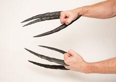 Daken-Dark Wolverine Claws Hand Sculpted and by DarkMatterProps