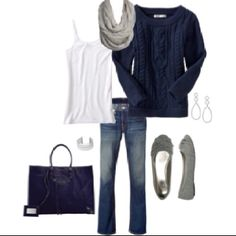 I love blues and grays. Can't find anything wrong with this combo.