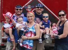 Great Family Shot for the 4th of July! #Verrado #friends