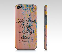 Things Above  iPhone 4 4S or 5 5S 5C Hard Case by EbiEmporium, $40.00