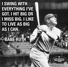 Babe Ruth Inspirational Quotes. QuotesGram