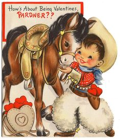 Vintage Cowboy Valentine