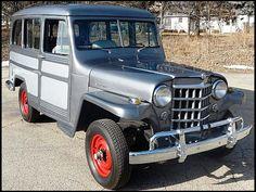 1951 Willys Jeep Wagon I wan't one.