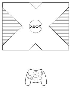 xbox controller cake template google search cakes cupcakes in