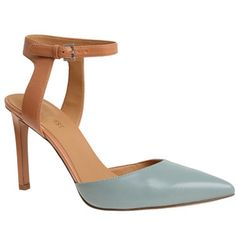 capricious Ankle straps huge this season Short Heels, Walk This Way, Shoe Closet, Ankle Straps, Nine West, Work Wear, Beautiful Things, Heeled Mules, Walking