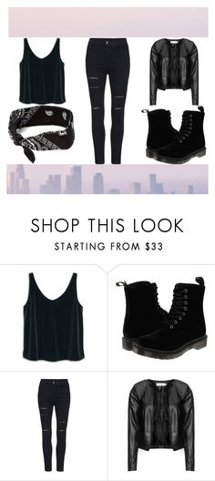 """templata :?"" by dark-soul-xd on Polyvore featuring MANGO, Dr. Martens, Zizzi and claire's"