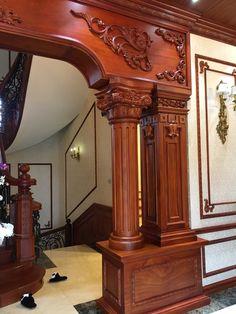 tutixobep Front Door Design Wood, Door Gate Design, Wood Front Doors, Wooden Door Design, Main Door Design, Wooden Doors, Interior Columns, Home Interior Design, House Arch Design