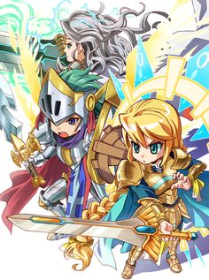 Brave Frontier by 9mg2