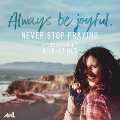 #VOTD #Bible #Always #Joyful