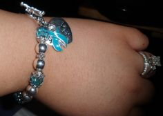 my bracelet i got to support my pcos