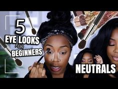 (14) THIS IS IT!!! 5 EASY LOOKS USING 1 NEUTRAL PALETTE | AN EYESHADOW GUIDE FOR BEGINNERS | Andrea Renee - YouTube Mac Powder Foundation, Maybelline Foundation, Double Wear Foundation, Glow Foundation, Perfect Foundation, Makeup Foundation, Neutral Eyeshadow Palette, Neutral Palette, Makeup Geek