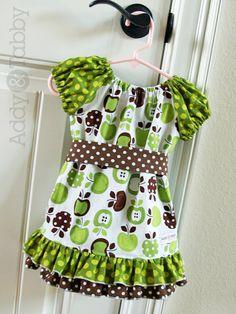 Handmade Lauren girls boutique peasant dress by treeswingboutique, $55.00