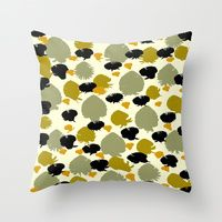 Throw Pillow featuring Anne by Gonpart