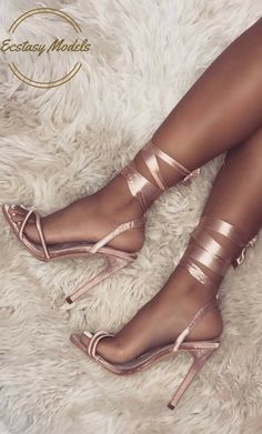 Satin Lace Up Heels by  Simmi Shoes #HighHeels