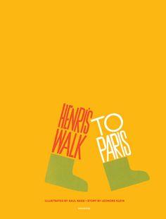 Henri's Walk to Paris(BOB GILL オリジナルポストカードセット付)