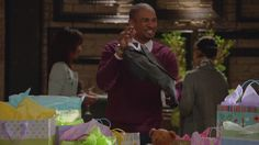 """""""What does he have, a job? He's not fooling anybody; he's a baby!""""-  I love Happy Endings"""