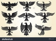 eagle vector heraldic - Pesquisa Google