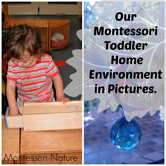 Our Montessori Toddler Home Environment in Pictures. - Montessori Nature Blog #montessori