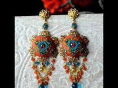 Bohemian chabby chic jewellry diy Chabby Chic, Bohemian, Drop Earrings, Diy, Jewelry, Fashion, Moda, Jewlery, Bricolage