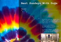 Do you don't know what to do on sundays? Just click on that link and you will have some fun sundays   https://bestsundayswithdoga.blogspot.com.tr/search?updated-min=2017-01-01T00:00:00-08:00&updated-max=2018-01-01T00:00:00-08:00&max-results=4