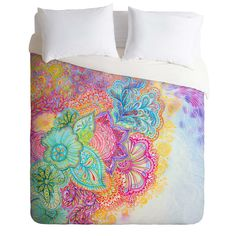 Stephanie Corfee Flourish Duvet Cover | DENY Designs Home Accessories I NEED NEED NEED NEED THIS FOR MY APARTMENT