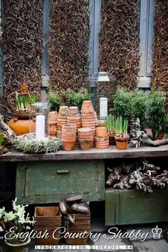 Potting Bench Ideas