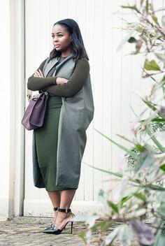 KHAKI SPRING COAT — WILLKATE | Fashion Blog by Kamogelo Mafokwane Vest, Style Inspiration, My Favorite Things, Spring, Board, Womens Fashion, Casual, Blog, Women's Fashion