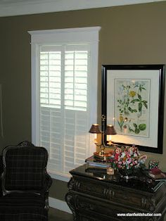 Shutters with a divider rail will give you privacy and light control too...