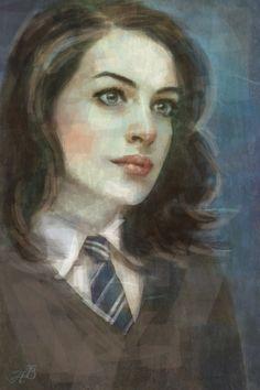 Andrómeda Black con su uniforme