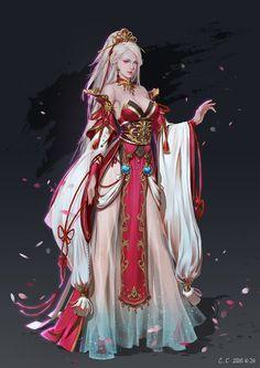 ArtStation - 女史, cici Chen