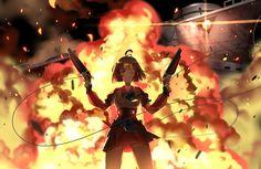 Anime Kabaneri Of The Iron Fortress  Mumei Wallpaper