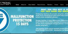 Barang Rusak Ditukar Baru, Hanya di Electronic Solution | Tempatnya Promosi dan Diskon