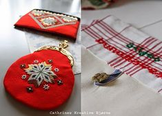 Cathrines Kreative Hjørne: Sy selv: Bunadsveske med innerlomme og monogram! Scandinavian Embroidery, Coin Purse, Monogram, Wallet, Purses, Fashion, Hardanger, Creative, Handbags