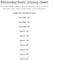 length of pillowcase dresses - Google Search