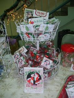 Mementos designs...holiday boutique candy favors!  Merry Kissmas and candy coin stocking stuffers. 2008