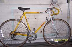 Ten Speed Bike | Today's Old Ten-Speed is a Falcon Team Banana ( Replica, I assume ...