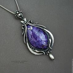 PEЗ! серебряный кулон Фиолетовый дождь