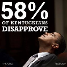 58% Of Kentuckians Disapprove of Barack Obama