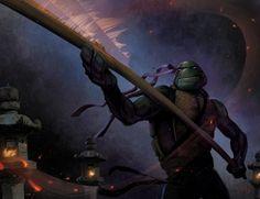 Dawn of the Ninja - Donatello