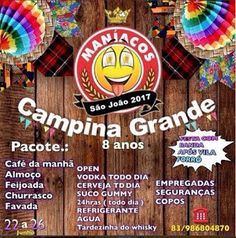 ACONTECE: Casa dos Maníacos no São João de Campina Grande