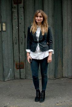 Street Style: The (Ultrachic) Women of Menswear Fashion Week